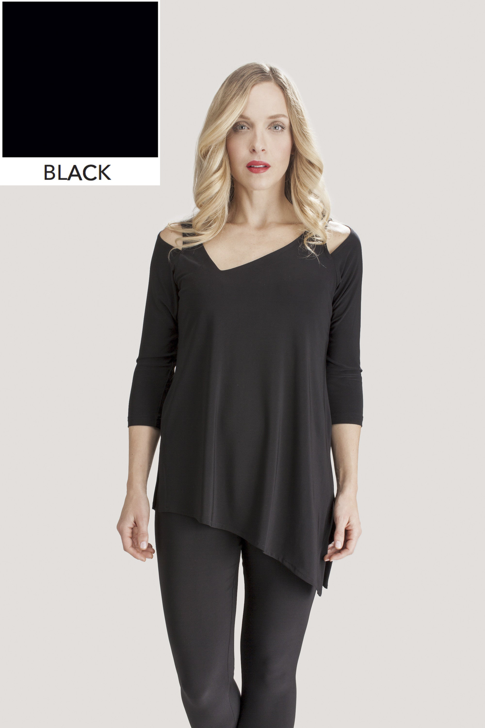 Focus Tunic - Black