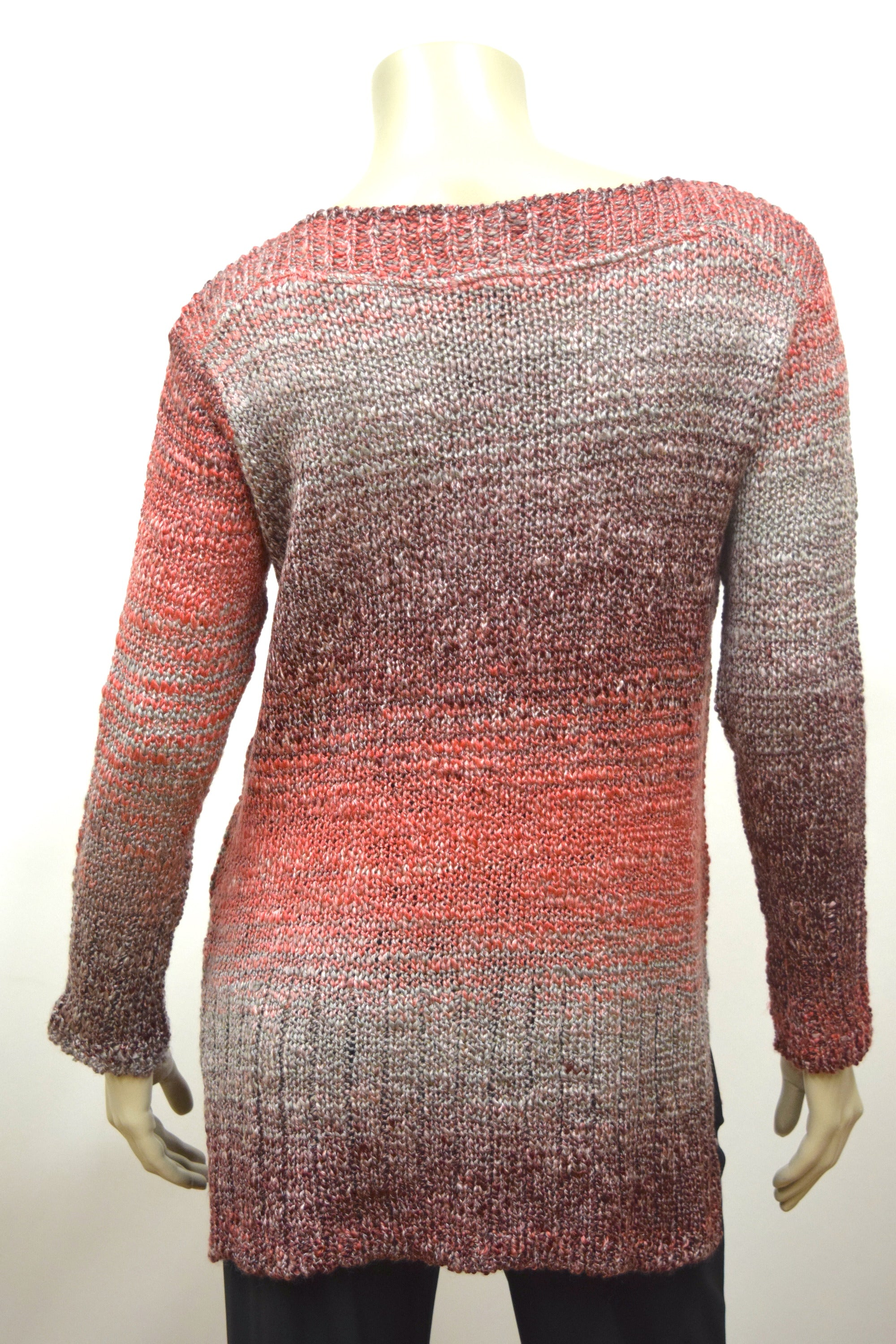 Rosewood Boatneck Sweater
