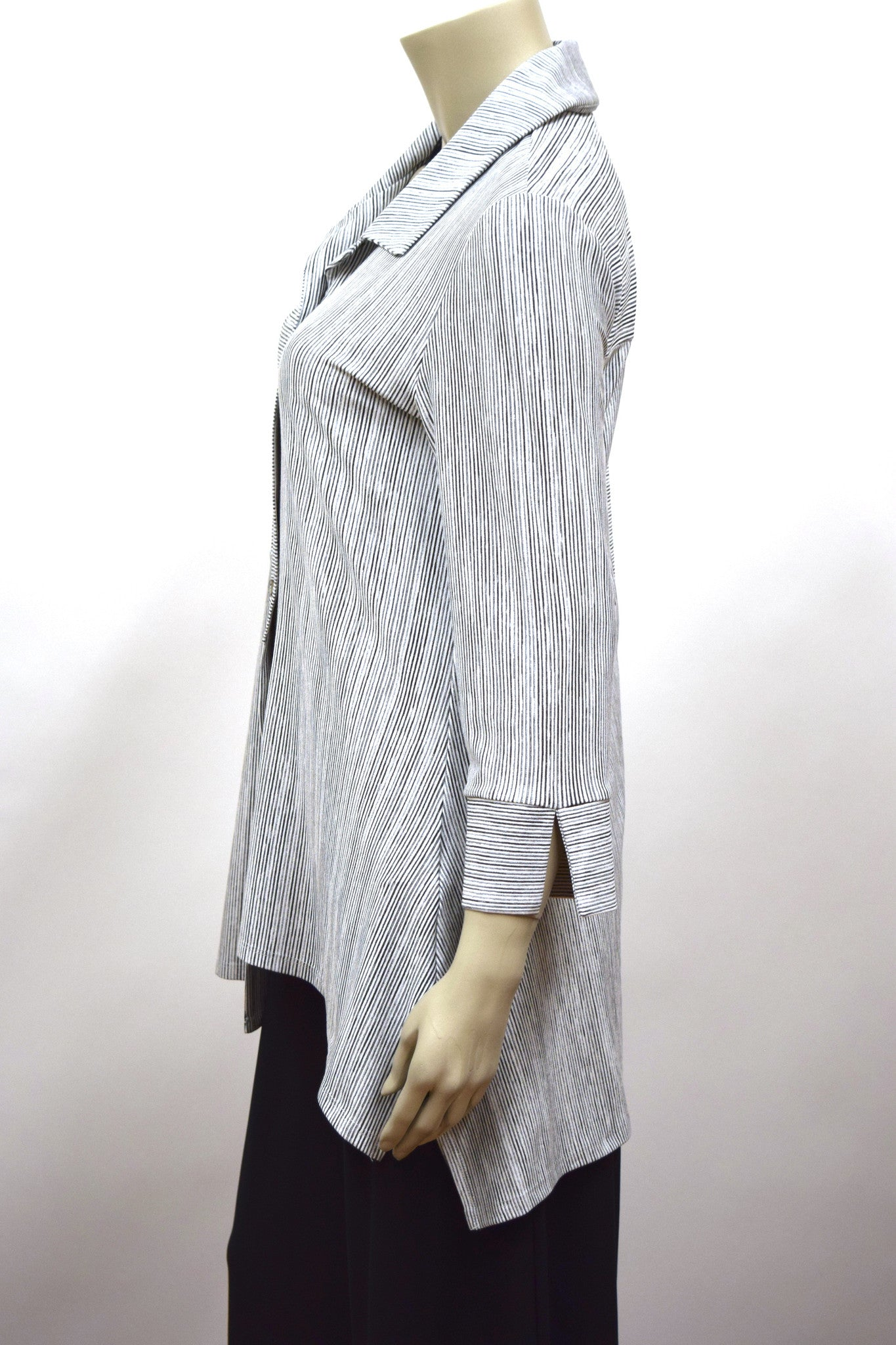 Striped Interwoven Top