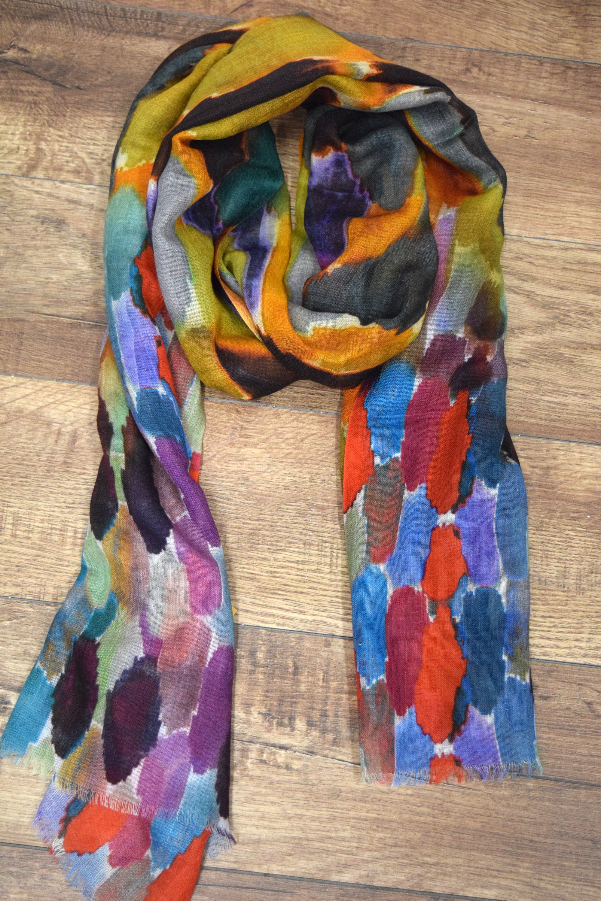 Painter's Palette Scarf