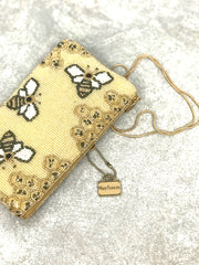 Oh Honey Bee Crossbody Phone Bag