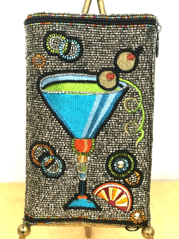 Cocktail Time Beaded Bag