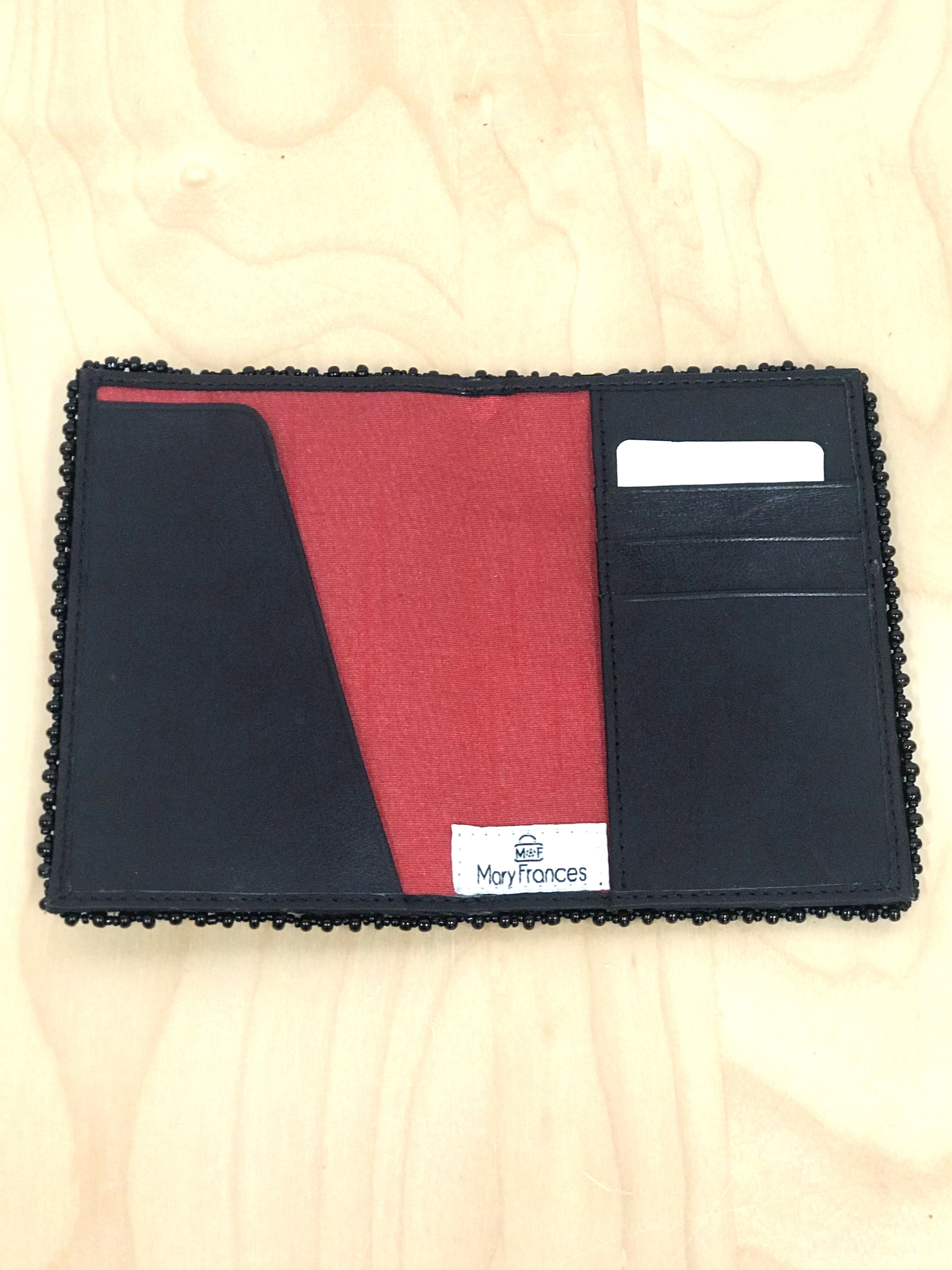 Word Play Passport Holder