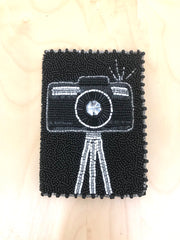 Smile Camera Passport Holder