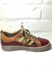 Red Multi Color Sneaker