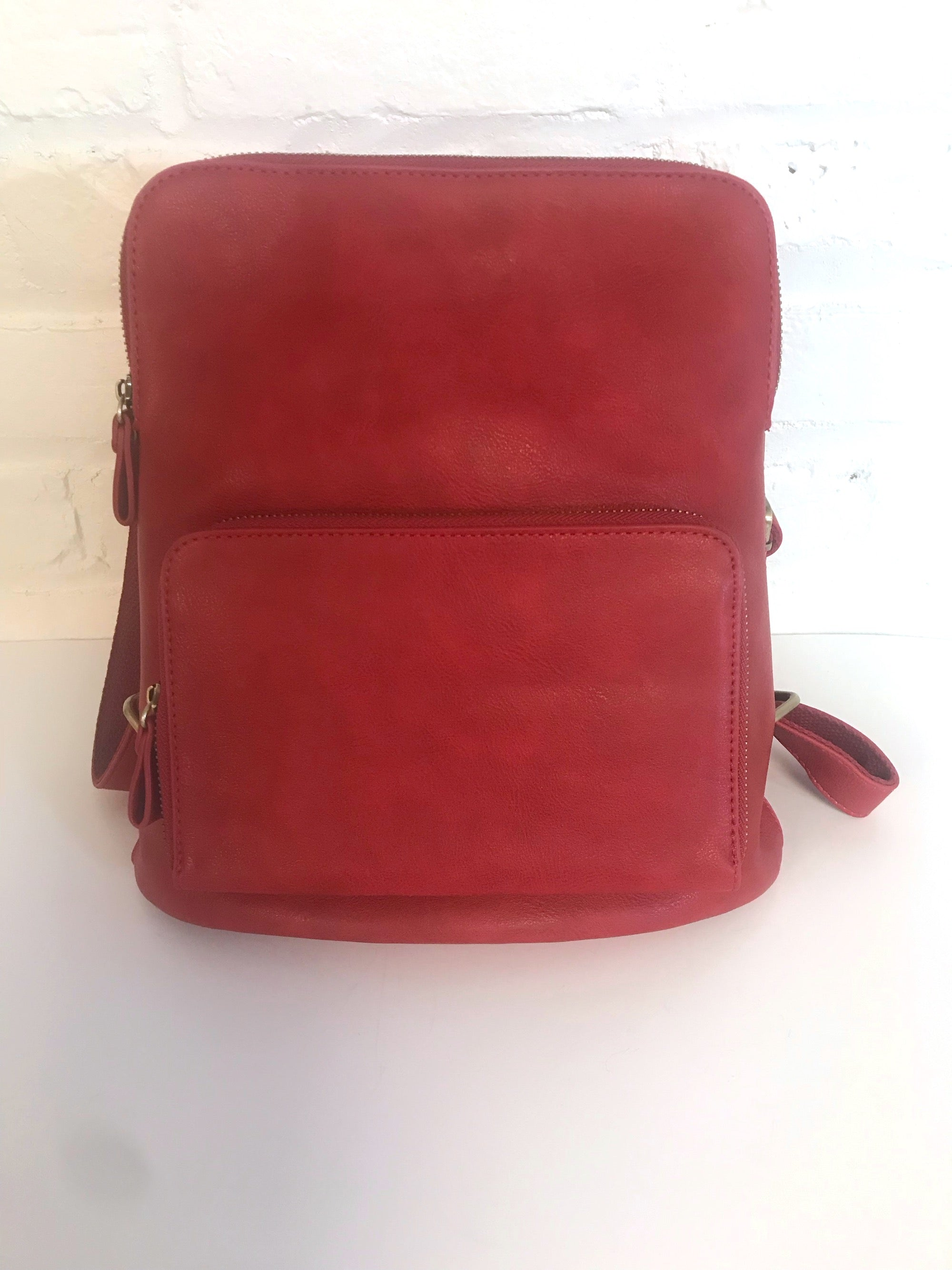 Red Mini Backpack