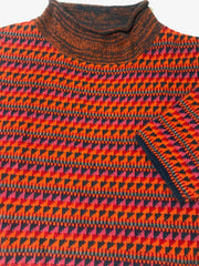 Cropped Colorful Sweater
