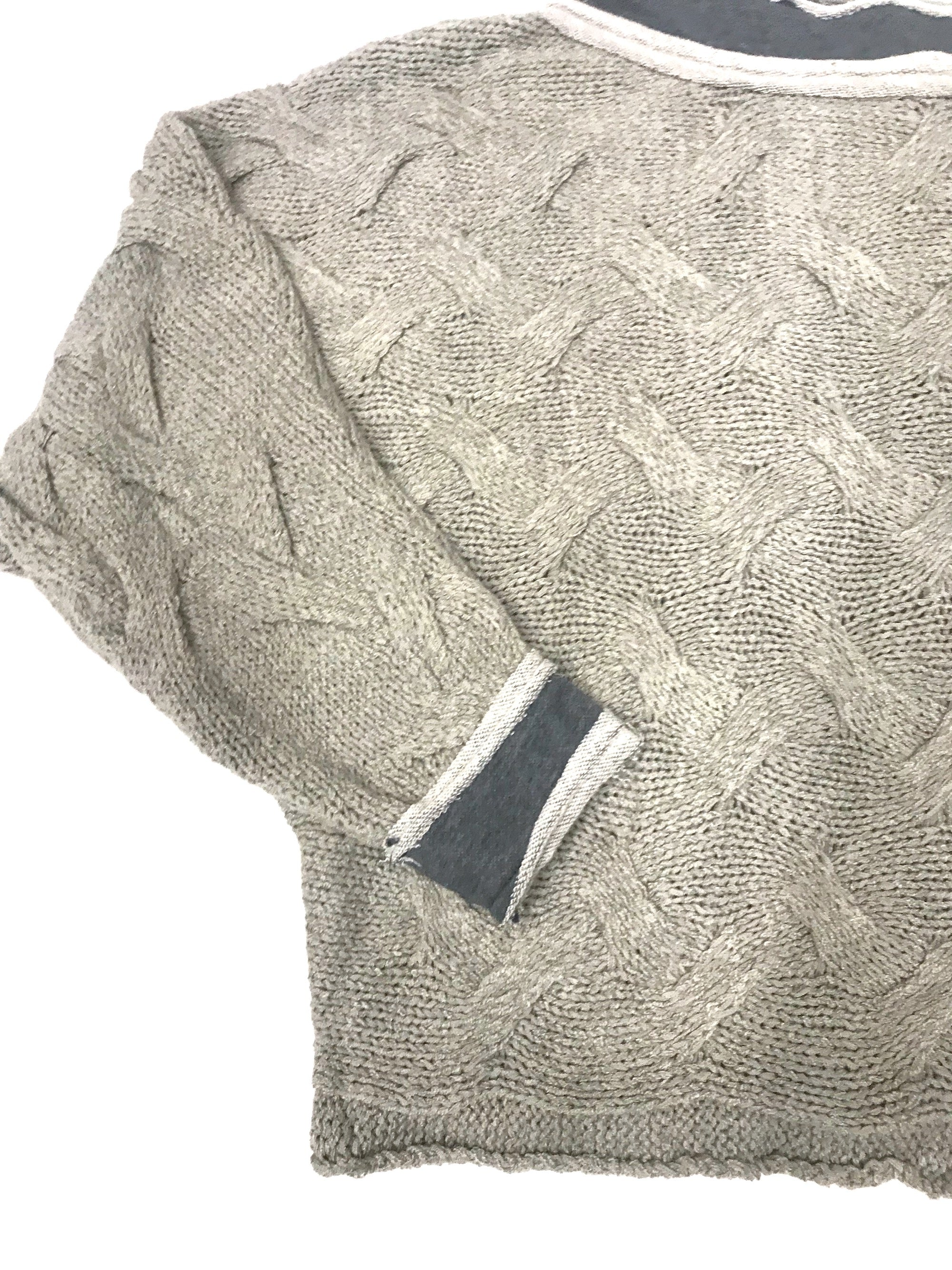 Cozy Drama Sweater-Soft Grey