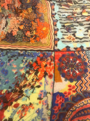 Mix Media Colorful Scarf
