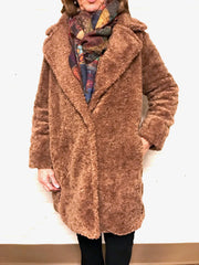 Teddy Coat - Cognac
