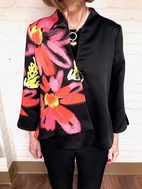 Floral Button Jacket