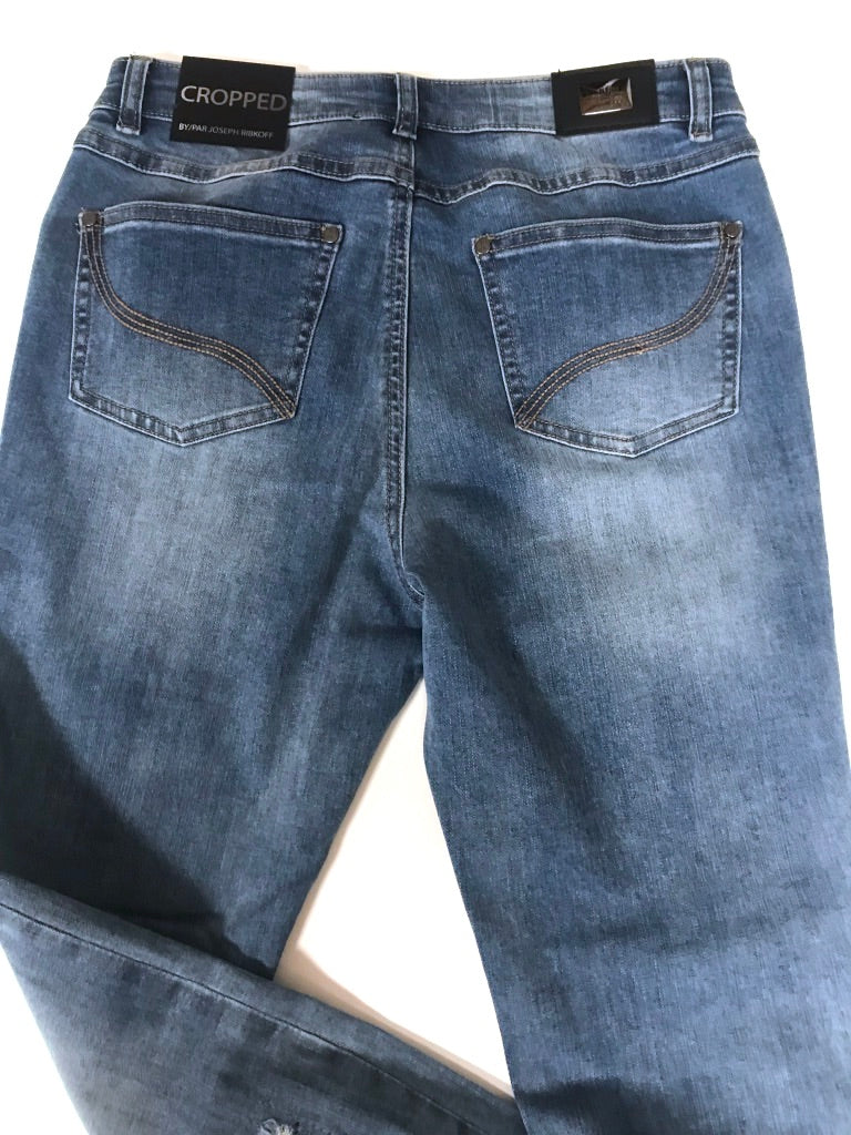 Accented Patched Jean