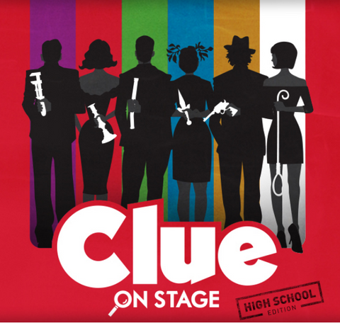 MS Winter Play: Clue, Sunday, Jan. 26, 2020, 2:00 pm