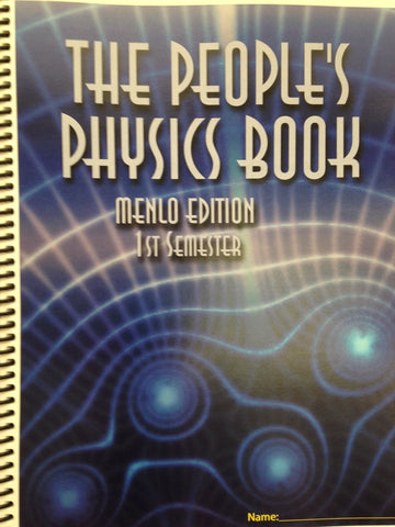 Physics 1: The People's Physics Book 2020/21