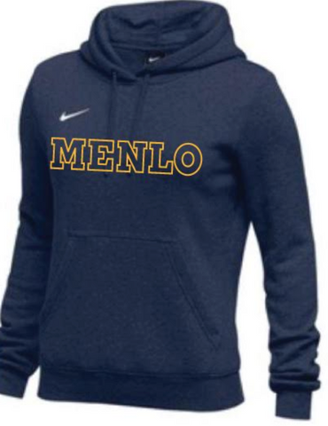 "Sweatshirt: Nike Club ""MENLO"" for women and youth"
