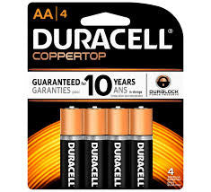 Batteries AAA Duracel copper 4 pack
