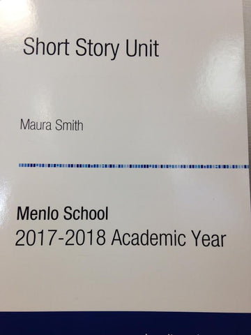 English 7 Reader: Short Story Unit