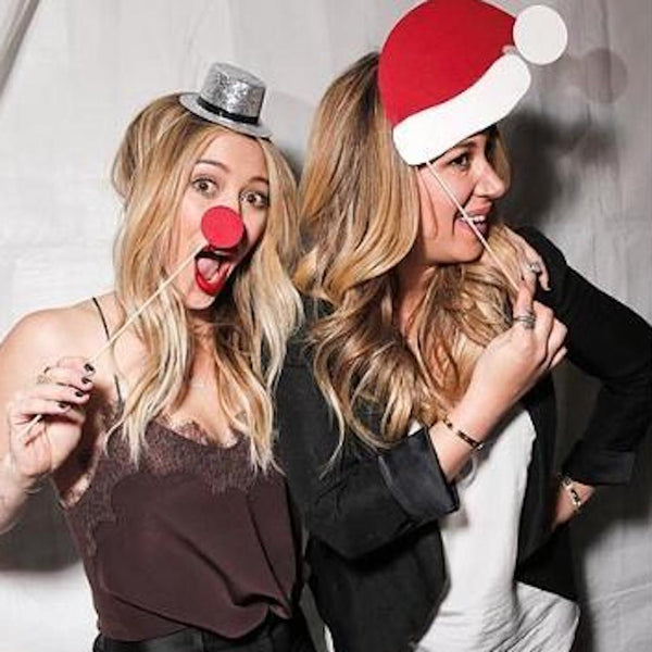 GETTING INTO THE HOLIDAY SPIRIT WITH HILARY DUFF + CAMI NYC