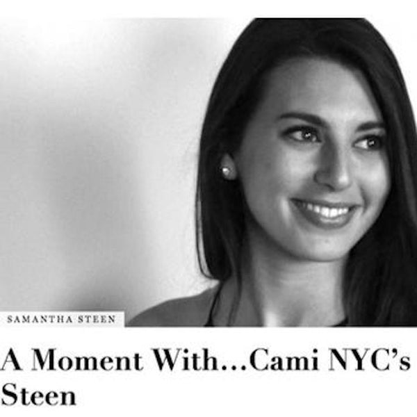 DAILY FRONT ROW - FEATURING OUR FOUNDER, SAMANTHA STEEN