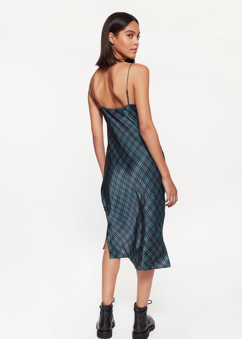 Raven Dress Scotch Plaid