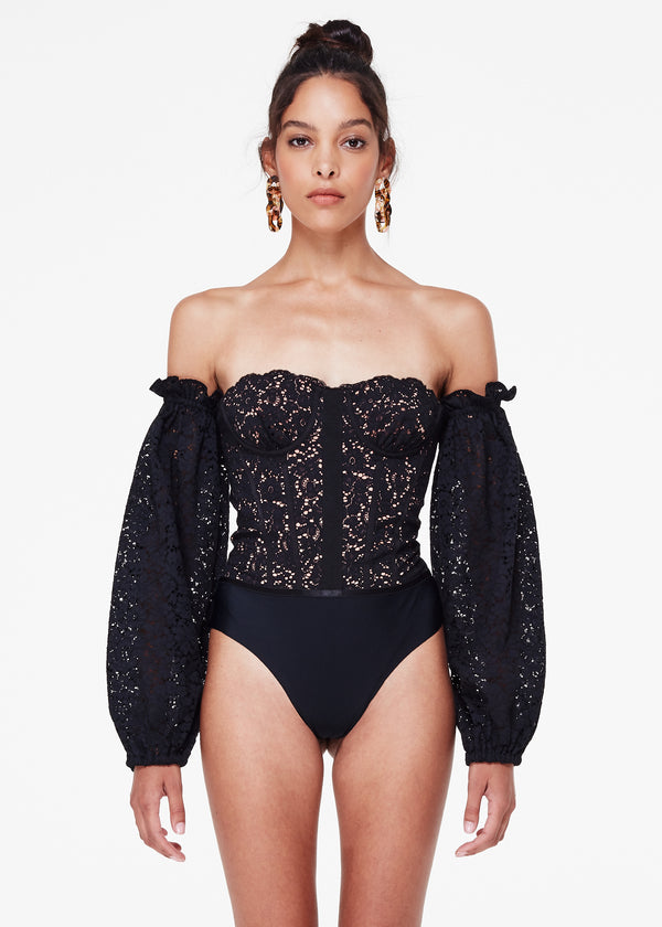Janelle Bodysuit Black