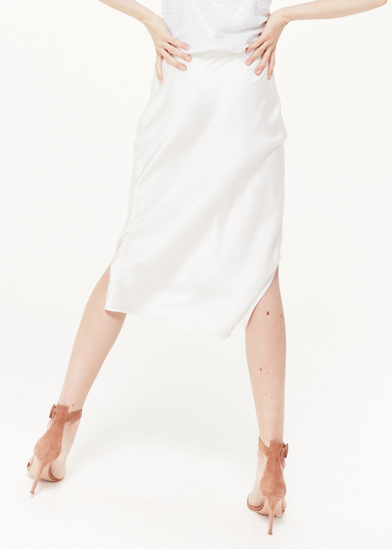The Jessica Skirt White