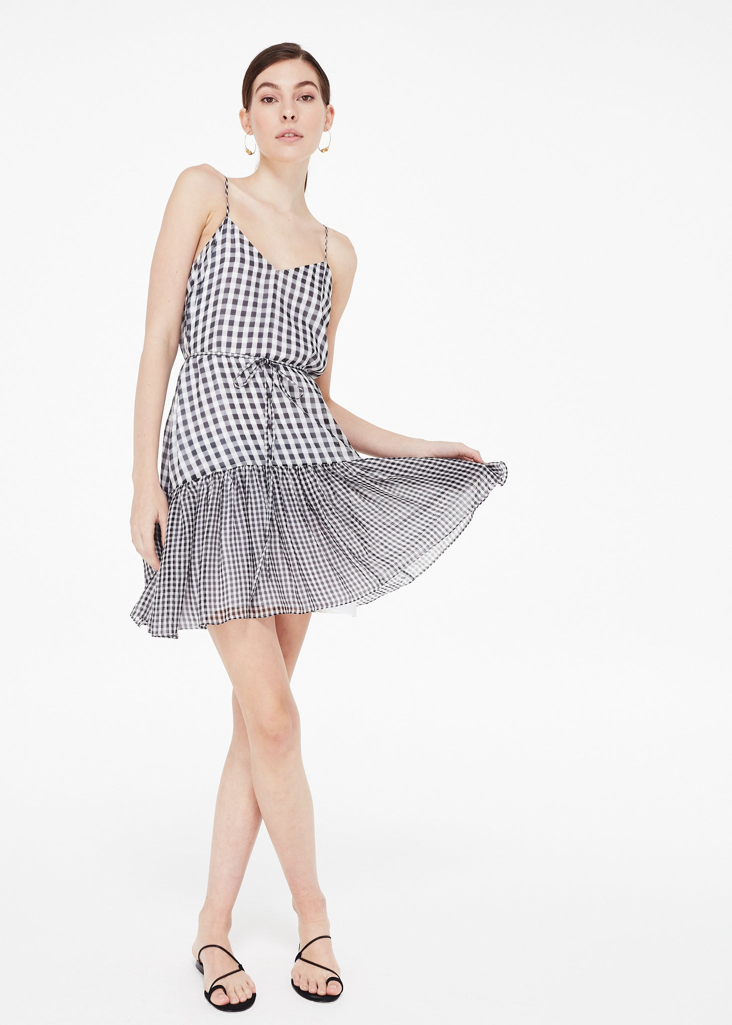 Image of Marla Black Mini Gingham