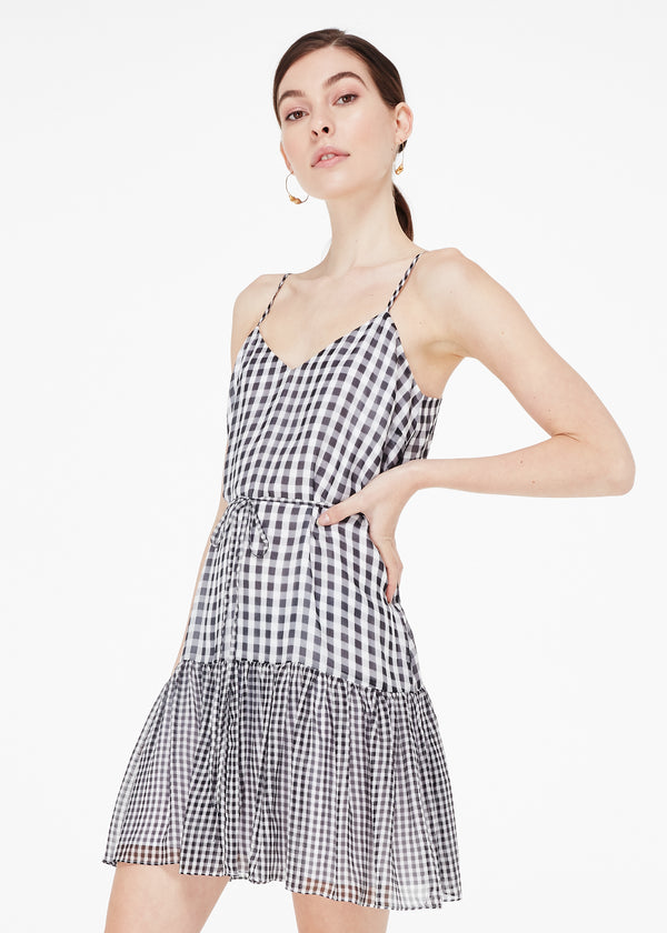 Marla Black Mini Gingham