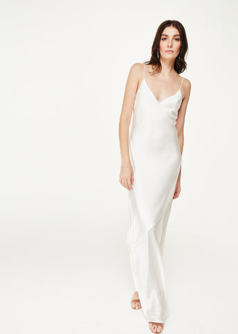 The Raven Gown White
