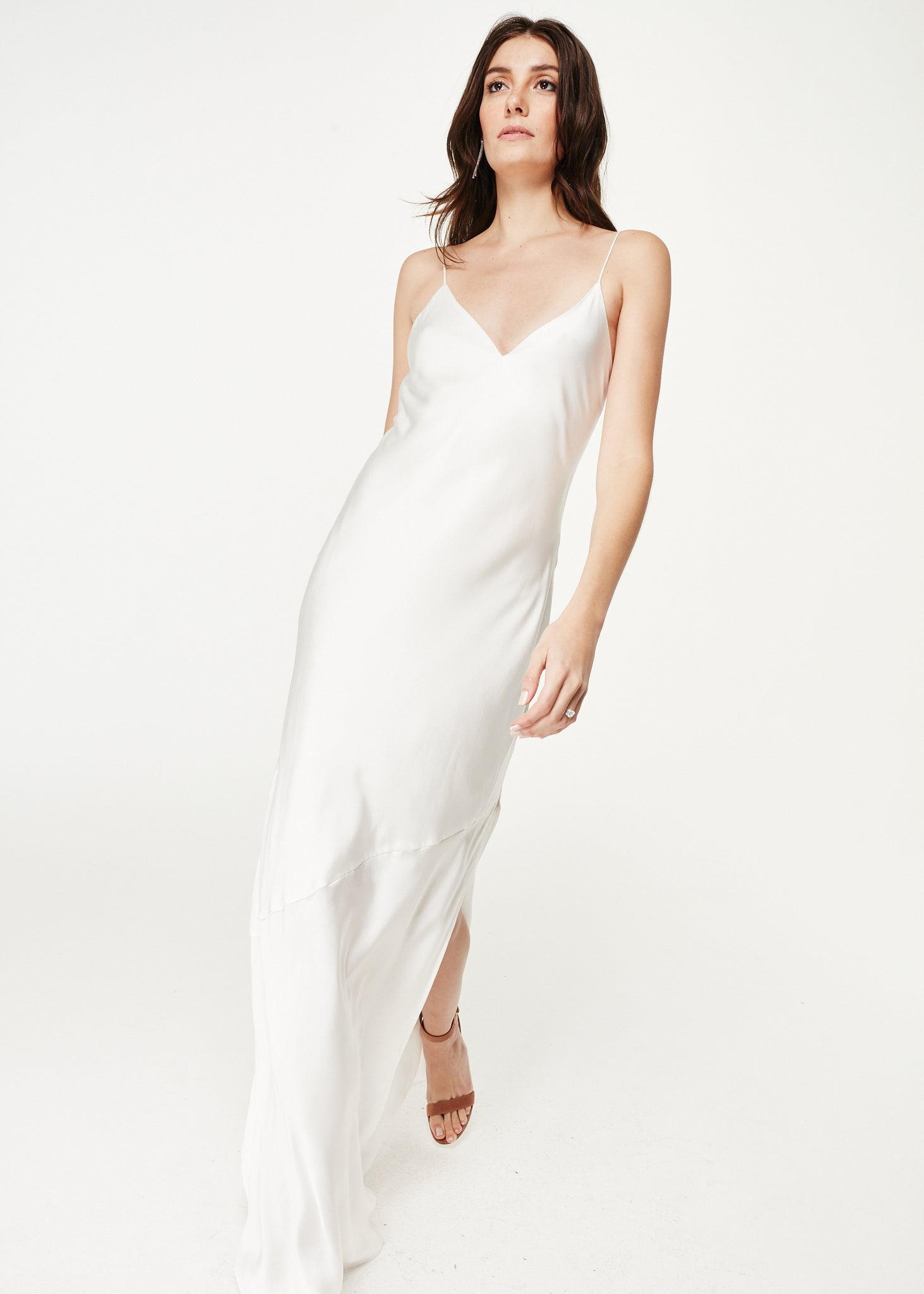 Image of Raven Gown White
