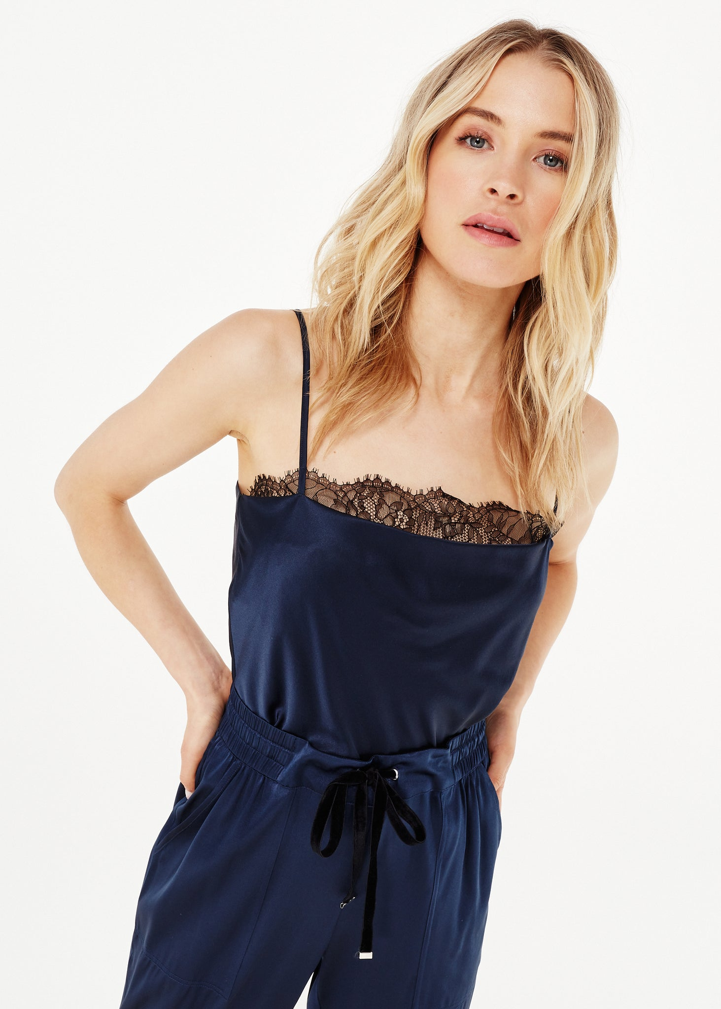 Image of Romy Bodysuit Navy