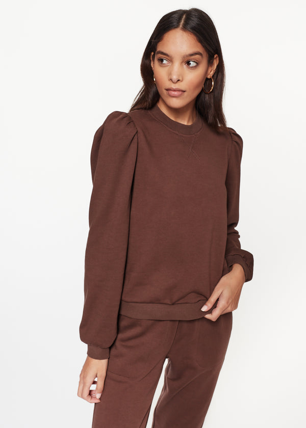 Roberta Sweatshirt Chocolate