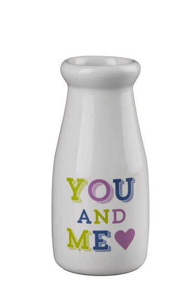You & Me Happy Days Small Milk Bottle  Robert Gordon