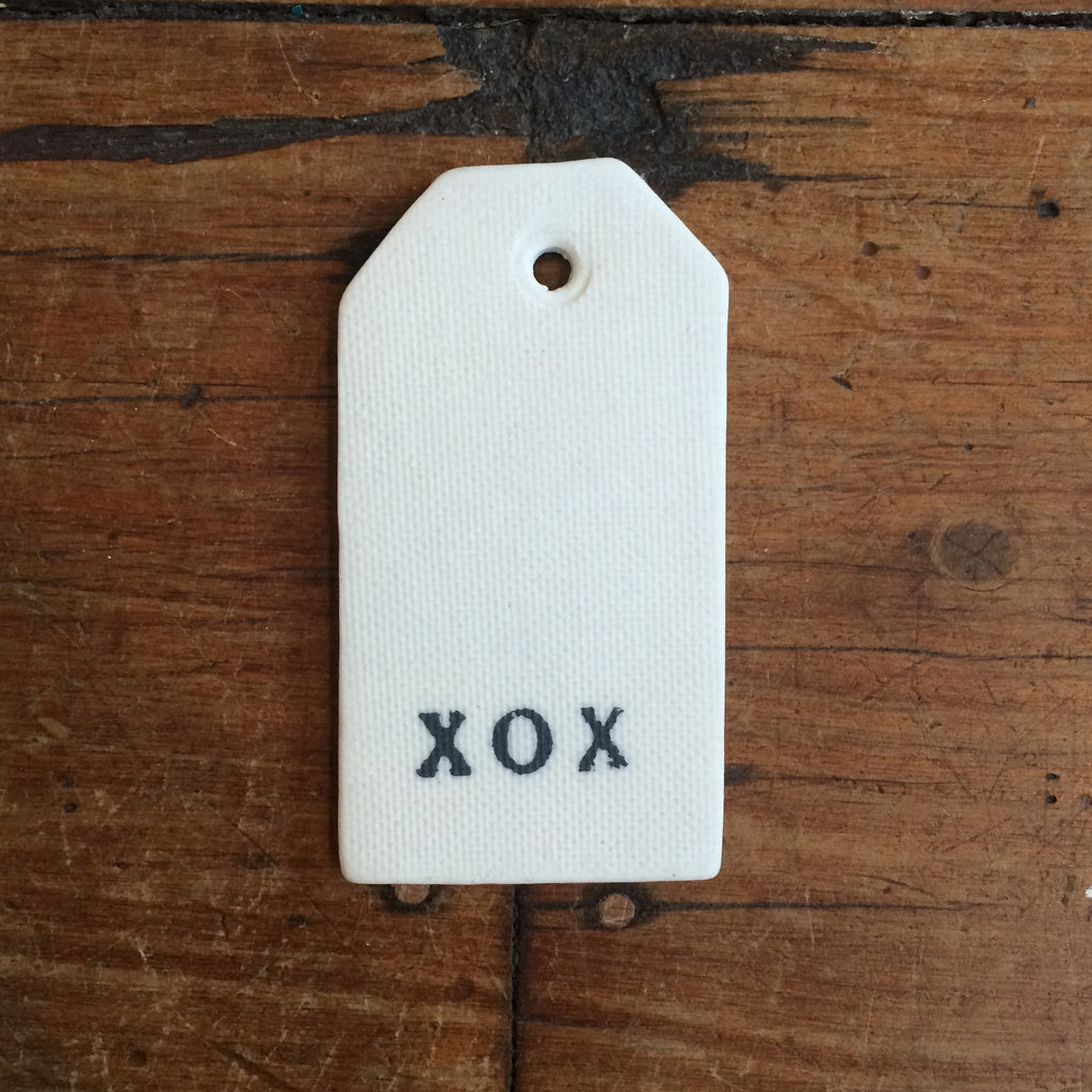 Ceramic Tag XOX Robert Gordon - 4