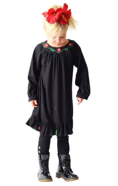 Blossom Dress 4 / Black Hide & SEEK - 1