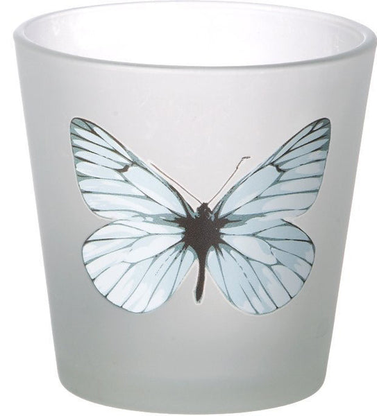 Butterfly | Dragonfly Decorative Tealight Glass  Parlane