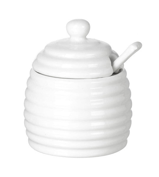 Porcelain Honey Pot  Parlane