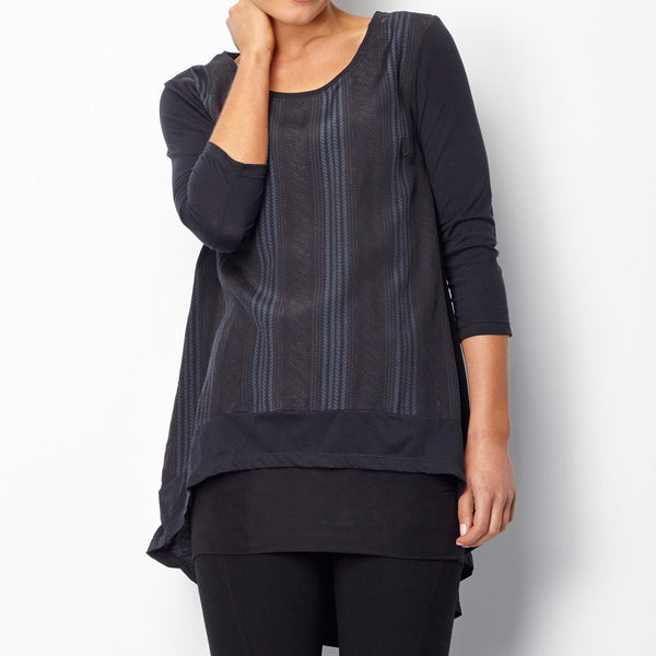 Issy Top Midnight Cable  Sancerre