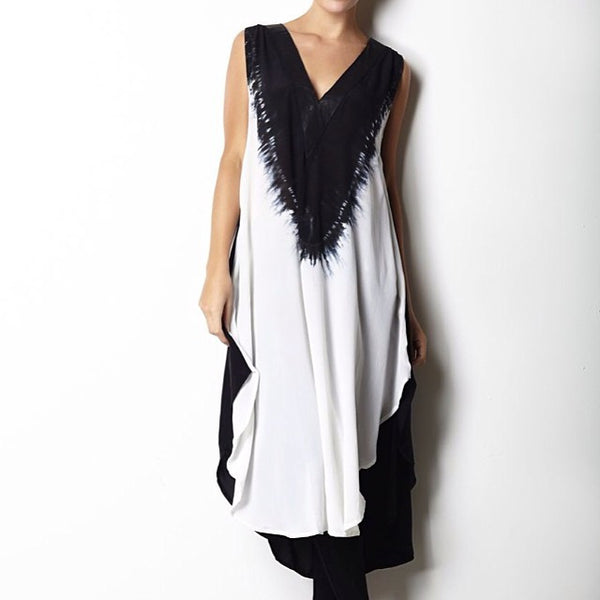 Zilah Tunic XS / Black Sancerre - 1