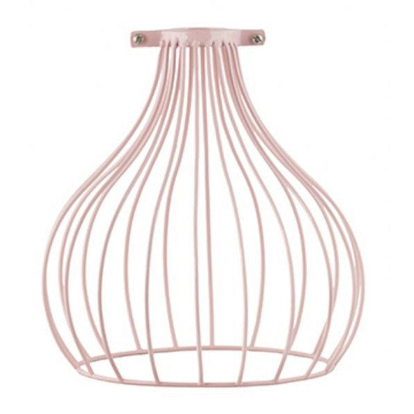 Bulb Wire Light Shade Soft Pink General Eclectic - 1