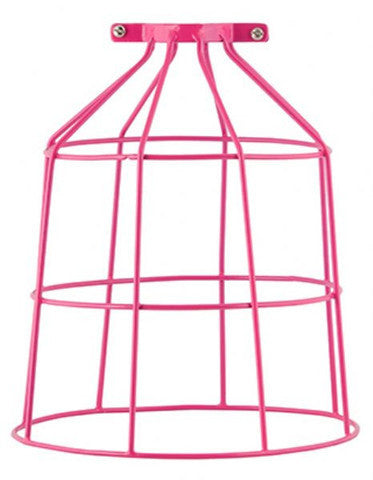 Bird Cage Wire Light Shade Aqua General Eclectic - 1