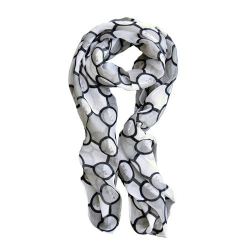 Ann Scarf Black Lady Luks - 1