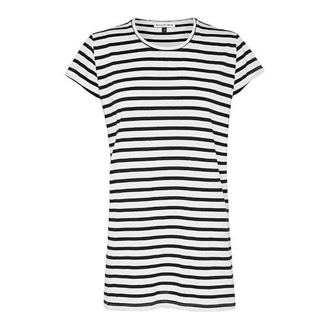 Crew Tee Black & White  Betty Browne - 1