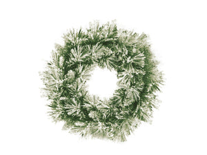 Snow Fir Wreath  Papaya