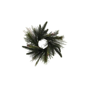 Faux Mixed Pine Wreath  Citta Design