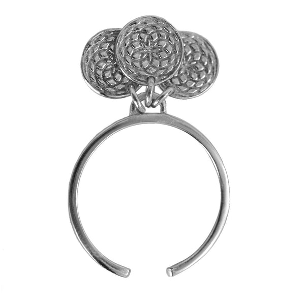 Frida 3 Coin Ring Silver Lady Luks - 1