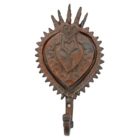 Sacred Heart Wall Hook  HomArt