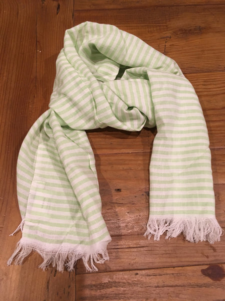 French Green Kids Scarf
