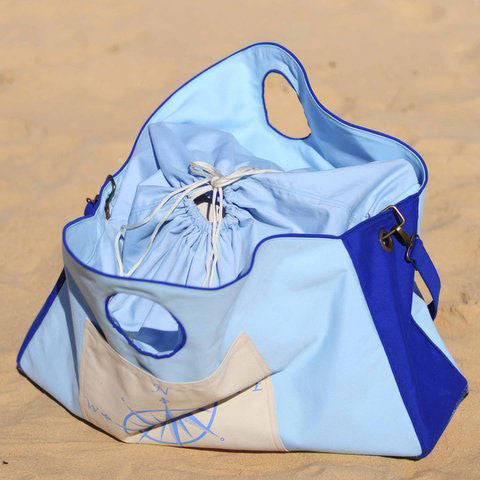 Nautical Compass Beach & Boat Bag  Lisa Carney Design - 1