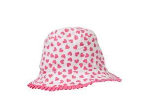 Love Heart Hat S / Aqua Hide & SEEK - 1